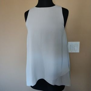 Tops - NWT Light Grey Sugar + Lips Blouse size M